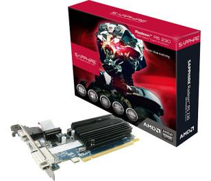 Sapphire R5 230 1GB 64Bit DDR3 Ekran Kartı (11233-01-20G)