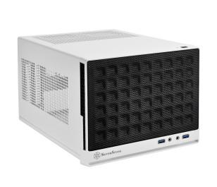 SilverStone SG13WB Waffle Beyaz/Siyah Mini DTX/Mini-ITX Kasa
