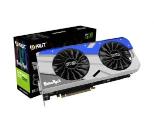 Palit GeForce GTX 1080 GameRock Premium Edition 8GB GDDR5X 256Bit DVI 3-DP HDMI