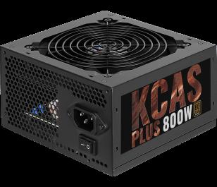 Aerocool KCAS PLUS 800W 80Plus Bronze Sertifikalı 66A Single Rail Güç Kaynağı
