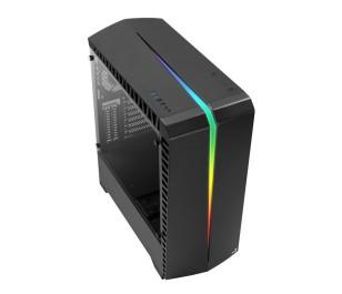 Aerocool Scar 600W 80+ RGB Tempered Glass USB 3.0 ATX Oyuncu Kasası