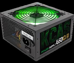 Aerocool KCAS 650W 80+ Gold Aktif PFC RGB Fanlı Güç Kaynağı