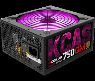 Aerocool KCAS 750W 80+ Gold Aktif PFC RGB Fanlı Modüler Güç Kaynağı
