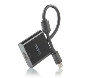 Akasa Mini Display Port - HDMI 4K Aktif Dönüştürücü