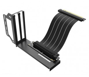 Akasa PCIe 3.0 x16 20cm Riser Kablo + Ekran Kartı Tutucu Kit