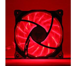Akasa Vegas Kırmızı 15Ledli 12cm Fan