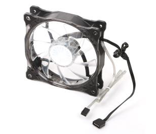 Akasa Vegas X7 18x RGB LED' li 120mm Kasa Fanı