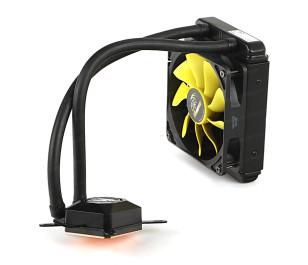 Akasa Venom A10 Intel LGA 775/115X/1366/2011/2066 ve AMD/AM2+/AM3/AM3+/AM4//FM1/FM2 120mm Radyatör Sıvı Soğutma Sistemi