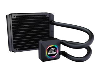 Akasa Venom R10 Intel LGA 775/115X/1366/2011/2066 ve AMD/AM2+/AM3/AM3+/AM4/FM1/FM2 120mm Radyatör RGB Sıvı Soğutma Sistemi