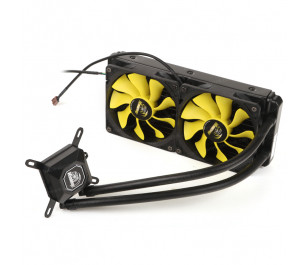 Akasa Venom A20 Intel LGA 775/115X/1366/2011/2066 ve AMD/AM2+/AM3/AM3+/AM4/FM1/FM2 240mm Radyatör Sıvı Soğutma Sistemi