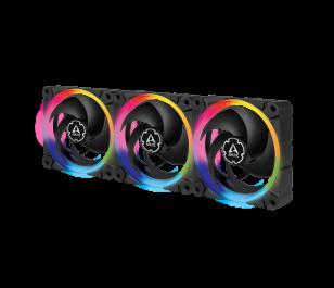 ARCTIC 3x BioniX P120 PWM 120mm 2300 RPM Yüksek Basınçlı Kasa Fanları + A-RGB Kontrolcü BUNDLE