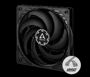 ARCTIC P12 SLIM PWM PST 120mm 2100 RPM Siyah/Siyah Kasa Fanı