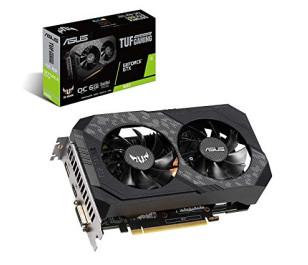 Asus GeForce GTX1660 TUF OC 6GB 192Bit GDDR6 Ekran Kartı (TUF-GTX1660-O6G-GAMING)
