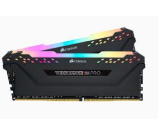 Corsair DDR4 16GB(2x8GB) Vengeance RGB PRO 3600MHz Ram Bellek (CMW16GX4M2C3600C18)