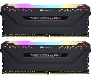 Corsair DDR4 32GB(2x16GB) Vengeance RGB PRO 2666MHz Ram Bellek (CMW32GX4M2A2666C16)