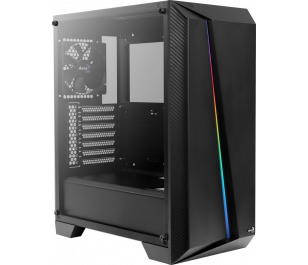 Aerocool Cylon Pro RGB Tempered Glass USB 3.0 Siyah Kasa