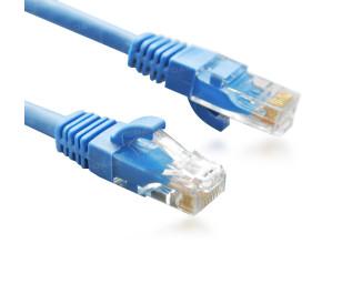 Dark 0,50m Cat6 CU AWG24/7 UTP Mavi Patch Network Kablosu