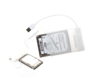 """Dark Storex E24 2.5"""" USB 3.0  Çıkarılabilir Başlıklı Şeffaf SATA Disk Kutusu"""