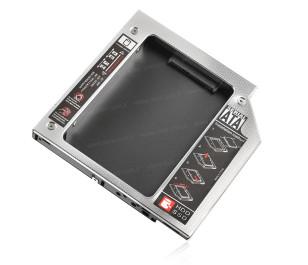 Dark StoreX X.Tray Notebook Optik Sürücü SATA Disk Yuvası Dönüştürücü (9.5mm)