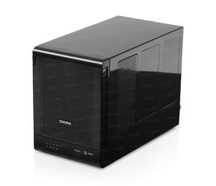 "Dark Quad RaidBox  4 x 3.5"" HDD Yuvalı USB 3.0 - eSATA RAID Destekli HDD Kutusu"