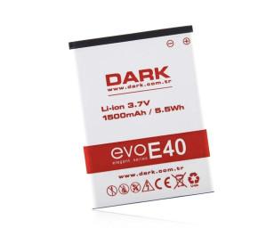 Dark Evo E40 1500 mAh Yedek Pil