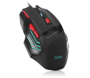 Dark Elite Force DPI Ayarlanabilir Aydınlatmalı USB Oyuncu Mouse