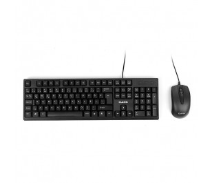 Dark Türkçe Q Kablolu Ofis Klavye & Mouse Set