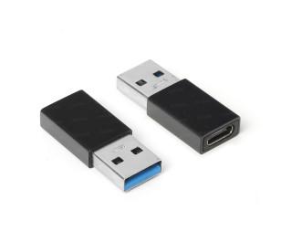 Dark USB3.0 Type-A - USB3.1 Type-C Dişi  Dönüştürücü