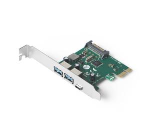 Dark U31P Çift USB 3.1 Type A + Type C Portlu PCI Express Kart