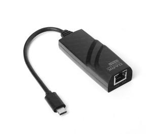 Dark USB3.1 Type-C - 10/100/1000 Gigabit LAN Ethernet Ağ Dönüştürücü