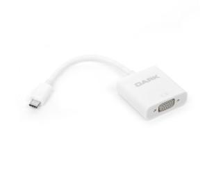 Dark USB 3.1 Type-C' den VGA Full HD Dönüştürücü Adaptör