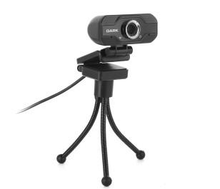 Dark WCAM21 HQ 1080P USB Web Kamera & Tripod