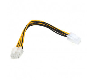 Dark CPU 4Pin Dişi to 8Pin Erkek Dönüştürücü Güç Kablosu