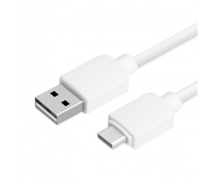 Dark USB 3.1 Type-C - USB 2.0 1 Metre Quick Charge Type A Beyaz