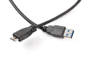 Dark USB 3.0 Micro-B Taşınabilir Disk Kablosu (Galaxy Note 3 ile Uyumlu)
