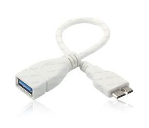 Dark Micro USB3.0 OTG Kablo (Galaxy Note3 ve Galaxy S5 Uyumlu)
