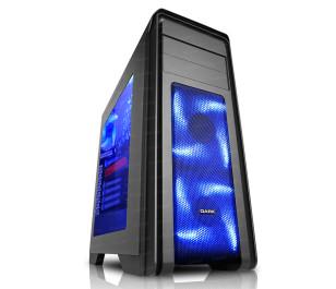 DARK N10 USB 3.0, 5x12cm Fan, Fan Kontrolcülü, Pencereli 500W ATX Kasa