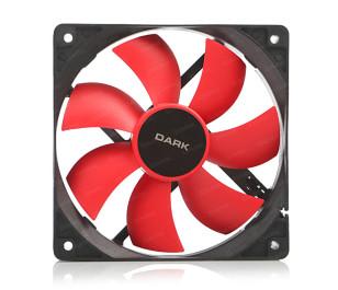 Dark 120mm Kırmızı Kanatlı Kasa Fanı