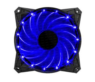 Dark 120mm Ultra Bright 15x Mavi LED' li Kasa Fanı