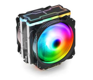 Dark Freezer X129 2xAddresseble RGB LED Fanlı Kule Tipi Soğutucu