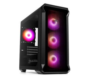 Dark GUARDIAN Mini PRO 600W 80+ Bronze 4x12cm ARGB Fan USB3.0 Tempered Glass MATX Oyuncu Kasası ( Yeni )