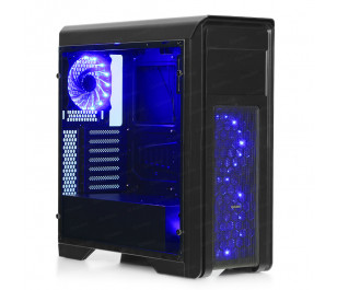 DARK N10 PRO USB 3.0, 3x12cm Fan, Fan Kontrolcülü, Temperli Yan Cam Panel ATX  Kasa