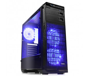 DARK N5 400W 80+ Bronze, USB 3.0, 3x12cm Fan LED'li , Full Cam Yan Panel ATX  Kasa