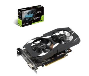 Asus GeForce GTX1660TI DUAL OC 6GB 192Bit GDDR6 Ekran Kartı (DUAL-GTX1660TI-O6G)