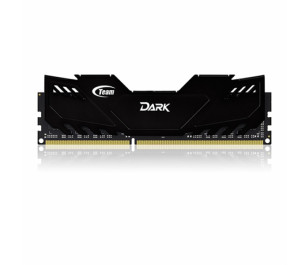 Team 8GB(2x4GB) DDR3 Overclocking Dark Series 2400MHz Gaming Soğutuculu Dual-Channel Ram Bellek(TM3D240042BLK)