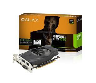 GALAX GeForce GTX 1050 OC 2GB 128-bit GDDR5 - HDMI 2.0B, DP1.4, Dual Link-DVI-D EKRAN KARTI