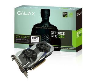 GALAX GeForce GTX 1060 OC 3GB 192-bit GDDR5 - HDMI 2.0B, DP1.4, Dual Link-DVI-D EKRAN KARTI