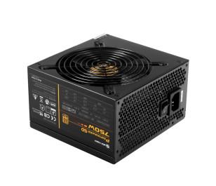 High Power Performance GD 750W 80+ Gold 62.5A Single Rail Aktif PFC Siyah ATX Güç Kaynağı
