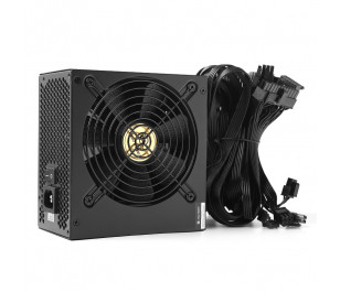 High Power Performance GD 800W 80+ Gold 66.7A Single Rail Aktif PFC Siyah ATX Güç Kaynağı