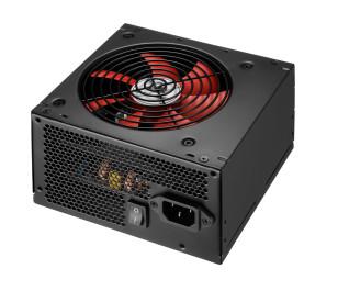 High Power Eco 600W 80+ Bronze 12cm Kırmızı Fan Güç Kaynağı (Kutusuz)